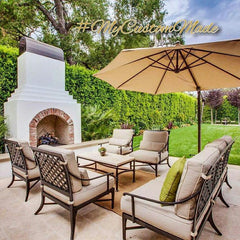 patio and garden custom made furnishings, decor and fixtures