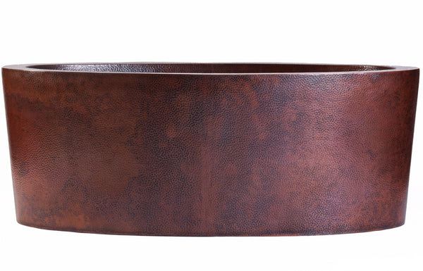 copper bathtub patina options