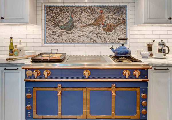 mexican tiles backsplash