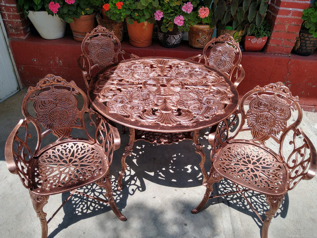 mexican patio dinning set