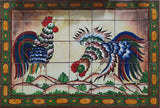 Custom Made Tile Mural from Mexico