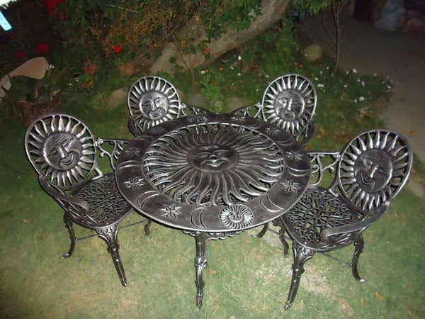 metal patio dining room set