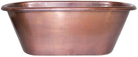 custom made copper bathtub virginia