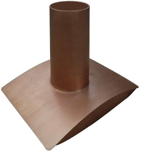 custom made stove copper range hood