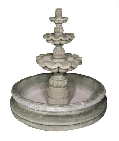 Cantera Stone Fountain