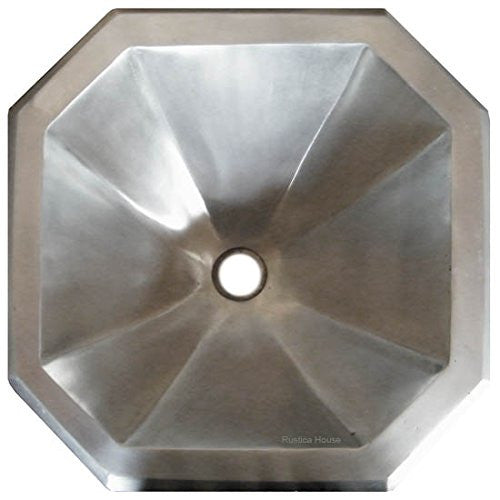 Drop-in Octagonal Pewter Sink