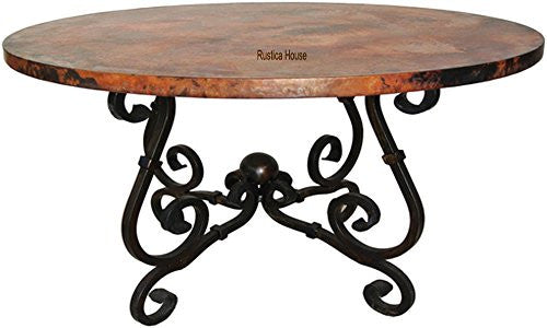 artisan copper table