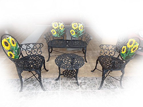 Outdoor Aluminum Decorative Furniture set