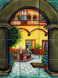 decorative kitchen mural