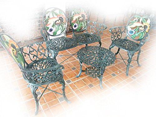 Outdoor Aluminum Traditional Furniture set