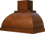 custom copper exhaust hood