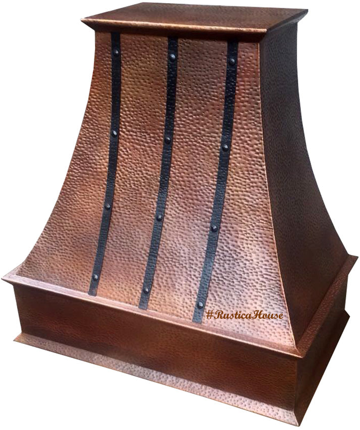 custom made to order copper oven hood