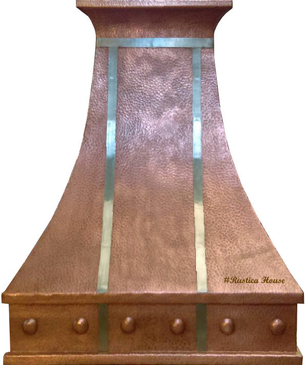 custom made to order stove copper range hood