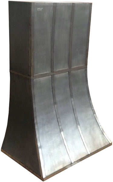 made to order zinc range hood