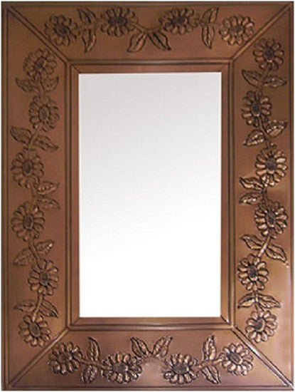 colonial tin mirror