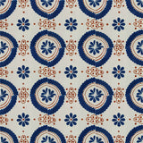 blue terracotta talavera tile