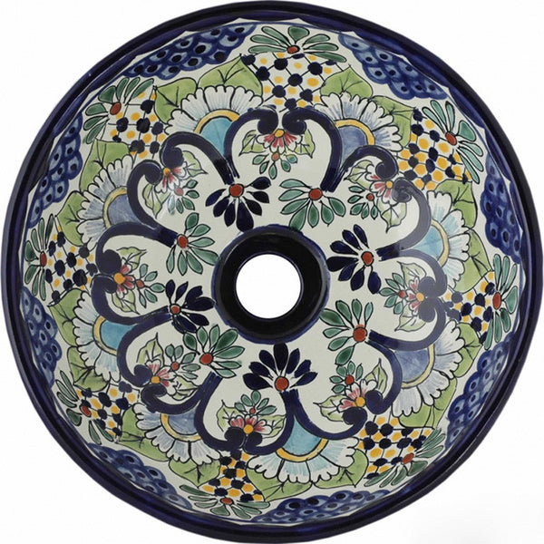 country round talavera bathroom sink