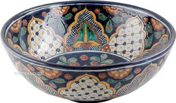 country round talavera vessel sink