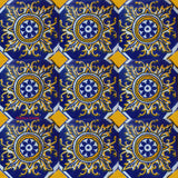 traditional blue talavera tile
