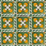 contemporary green talavera tile