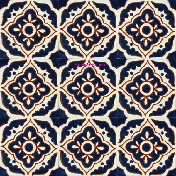 country cobalt talavera tile