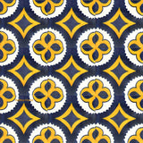 contemporary blue talavera tile