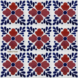 old world terracotta talavera tile