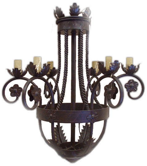 authentic iron chandelier