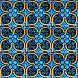 colonial green yellow talavera tile