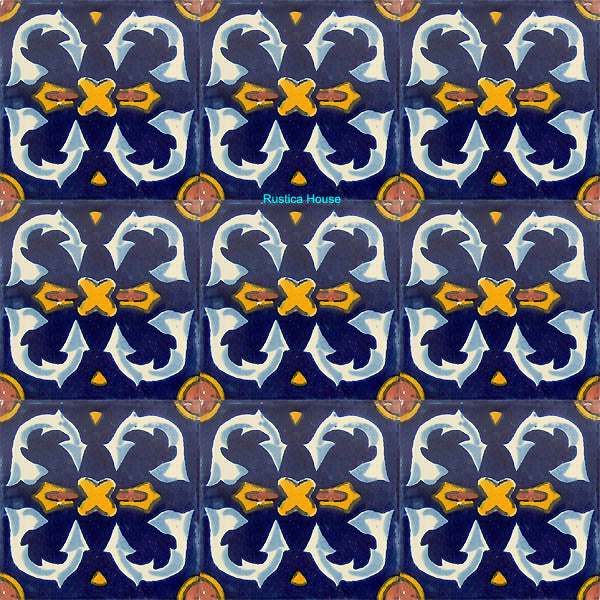 country white talavera tile