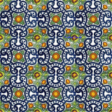 country navy blue talavera tile