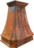 aged copper vent hood canada