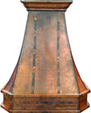 canada copper vent hood front view