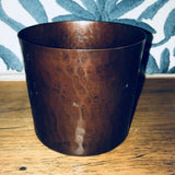 copper sugar bowl