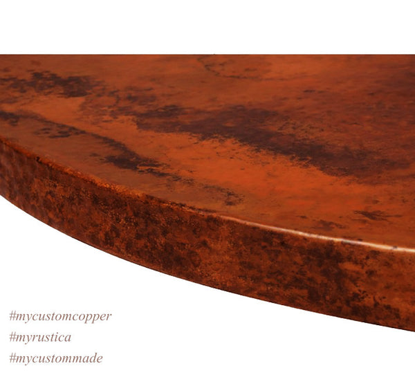 "Custom Copper Tabletops ""Canonita"""