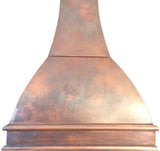 custom cooker copper range hood