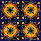 rustic yellow terracotta talavera tile