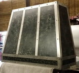 custom made zinc wall vent hood