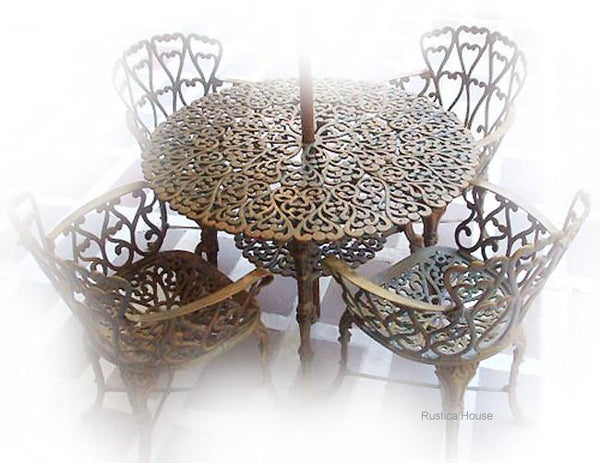 california style patio dining furniture