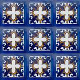 country blue talavera tile