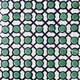country green black talavera tile
