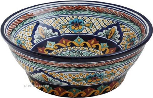mexican ceramic vessel sink