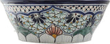 old world talavera vessel sink