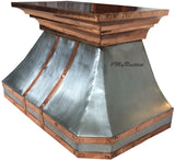 custom made zinc stove hood