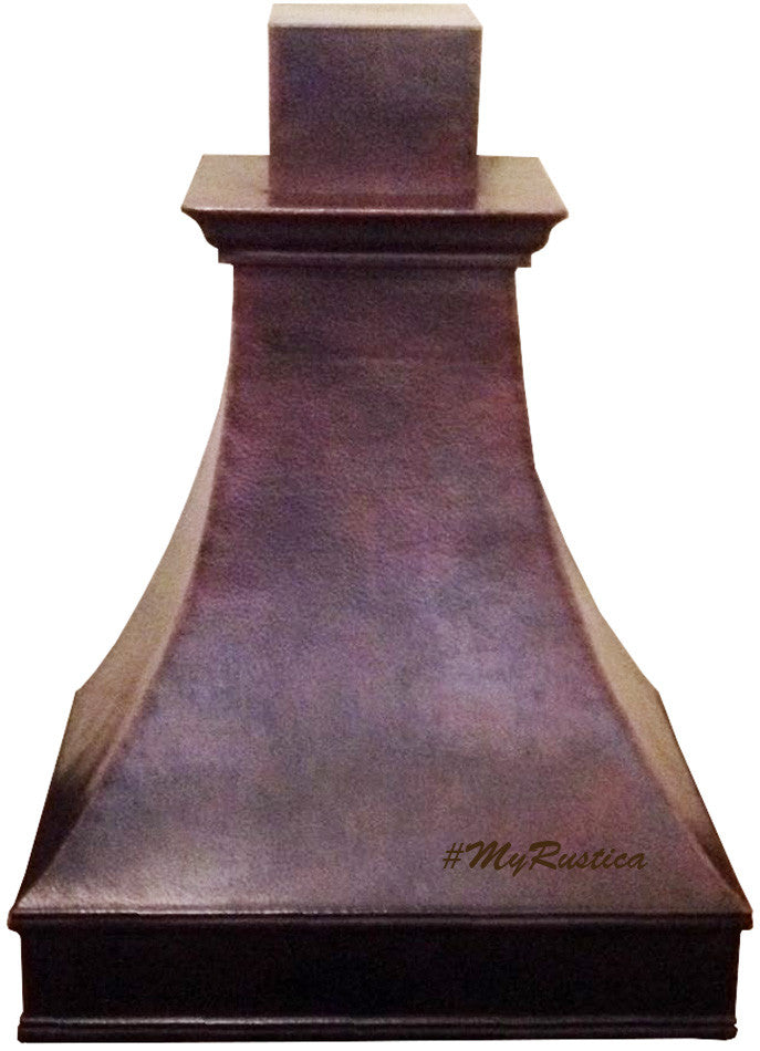 custom made to order vent copper range hood