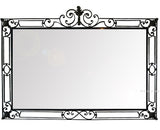 handmade iron mirror