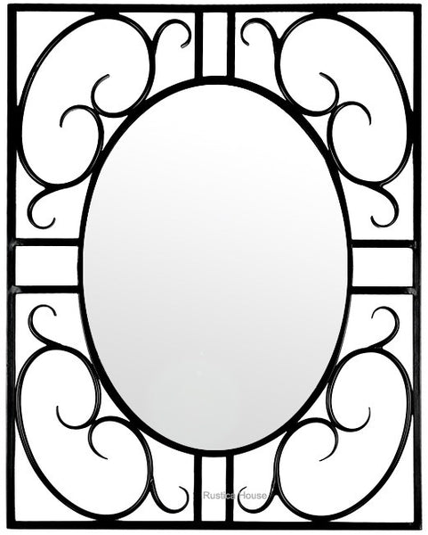 wonderful iron mirror