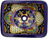 traditional rectangular talavera sink
