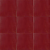 red wine ceramic tiles from Mexico
