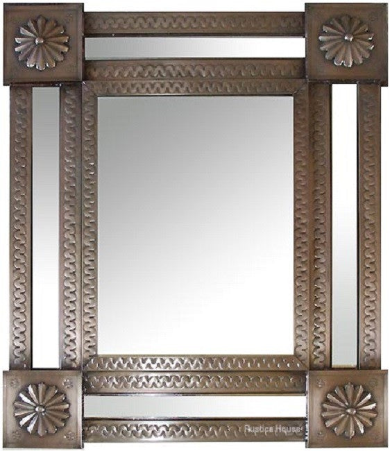 custom made tin mirror